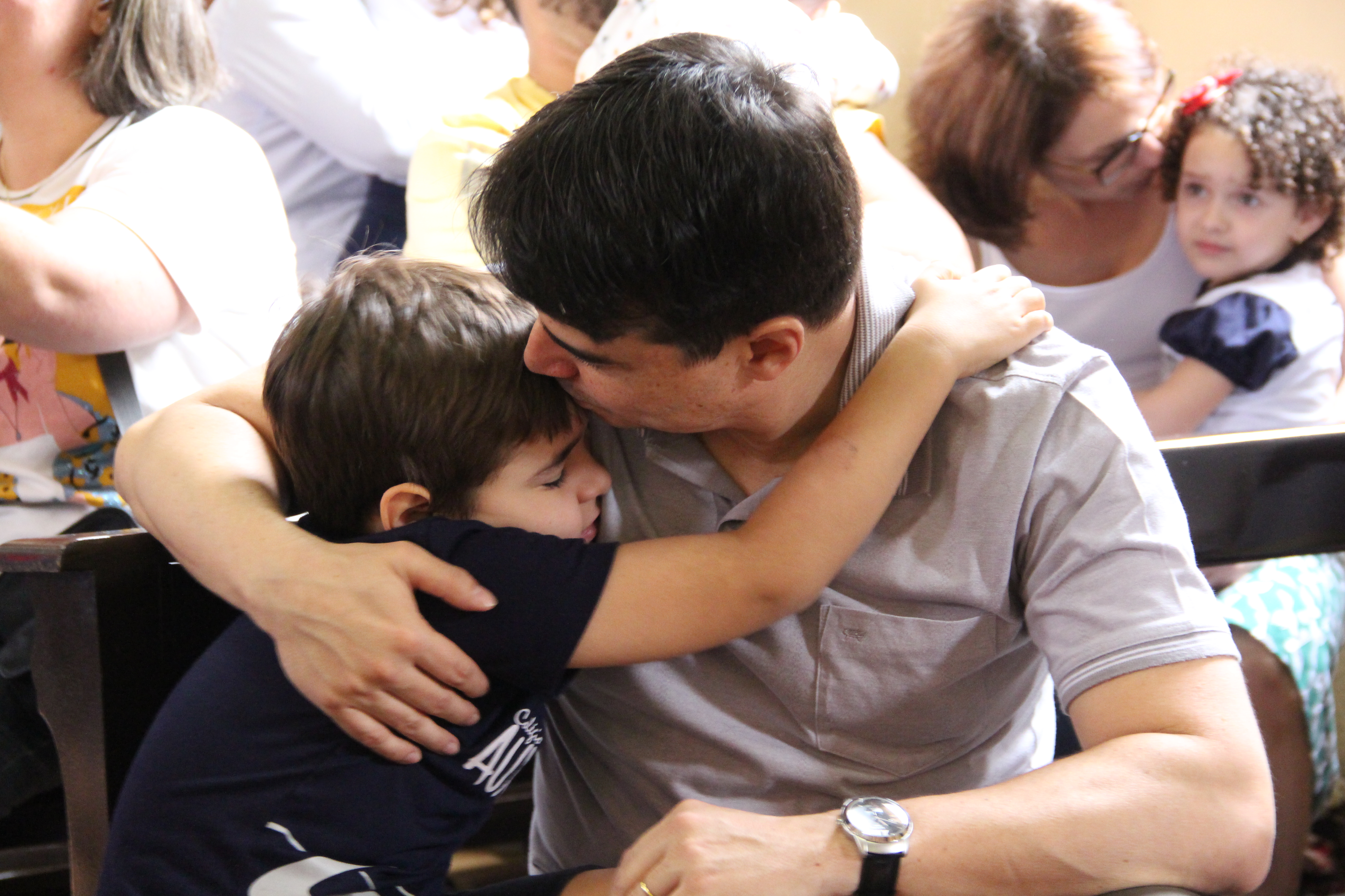 Missa do Dia dos Pais emociona convidados
