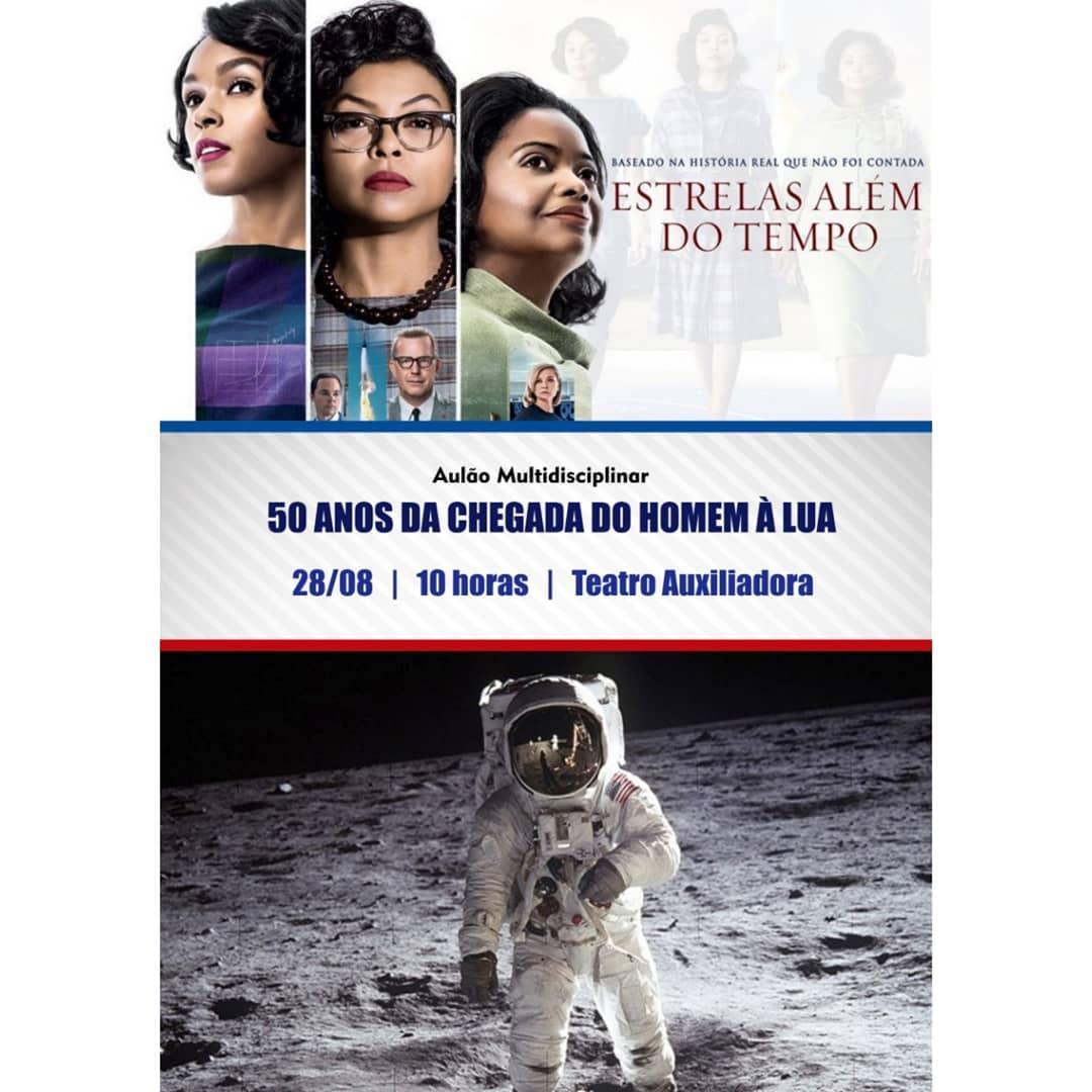 Aulão Multidisciplinar abordará a chegada do homem à lua