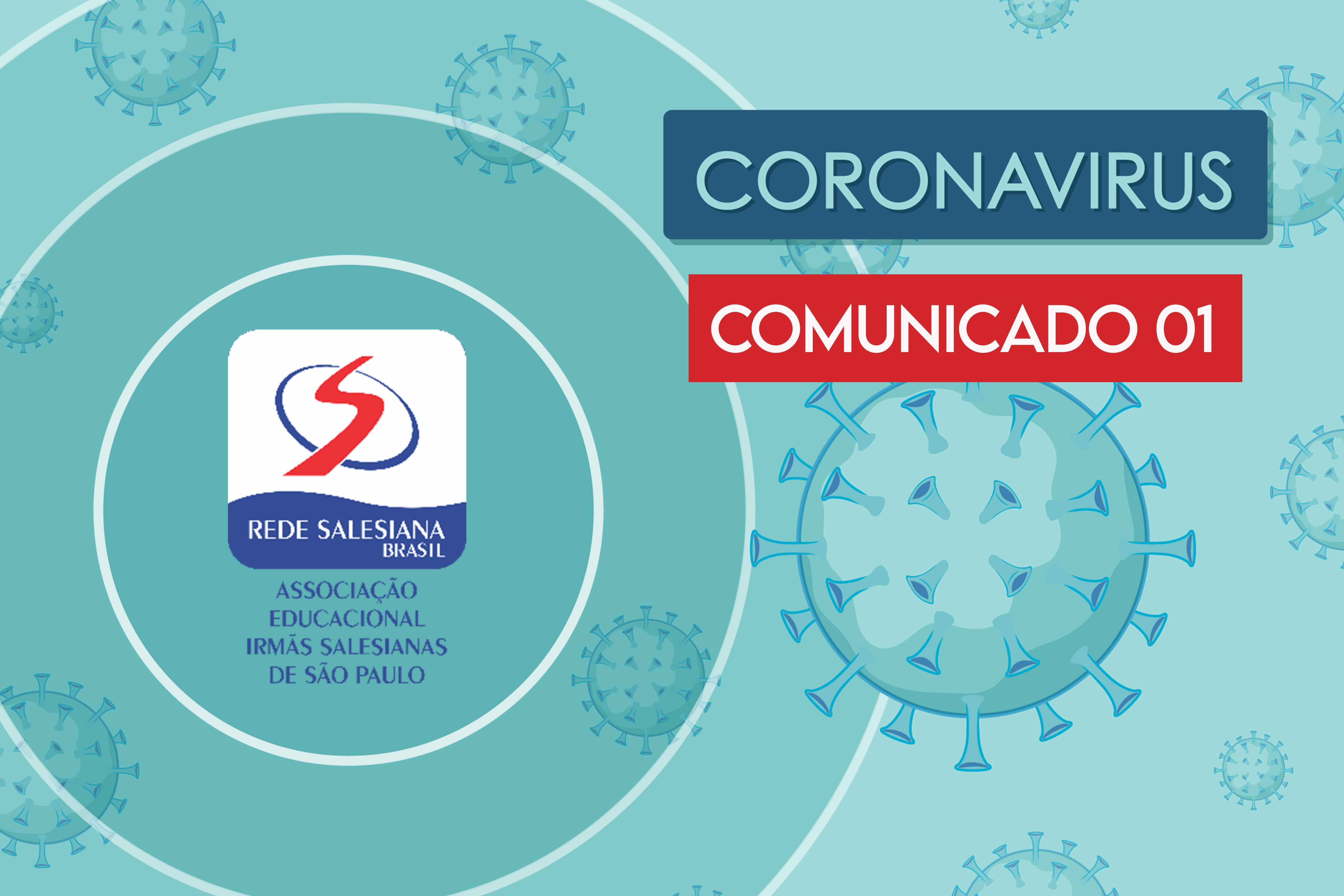 COMUNICADO 01 - Coronavírus