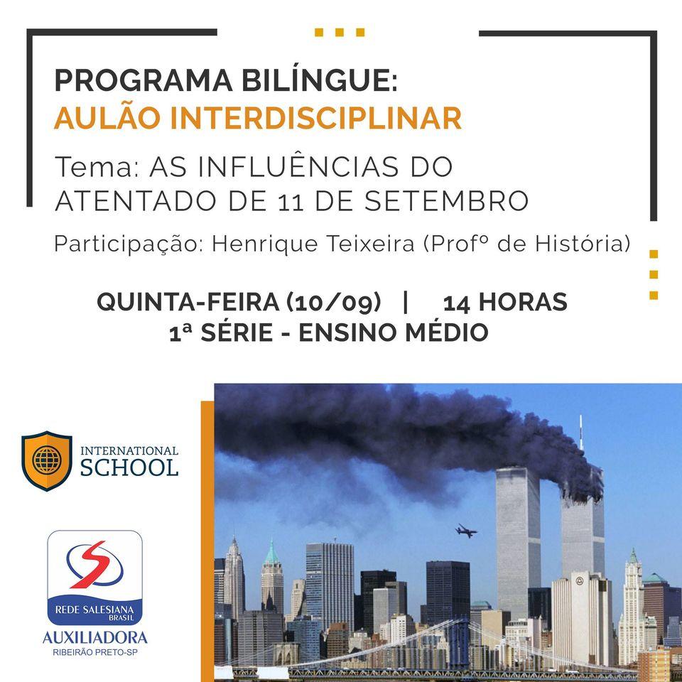 Programa Bilíngue do Ensino Médio terá aulão multidisciplinar