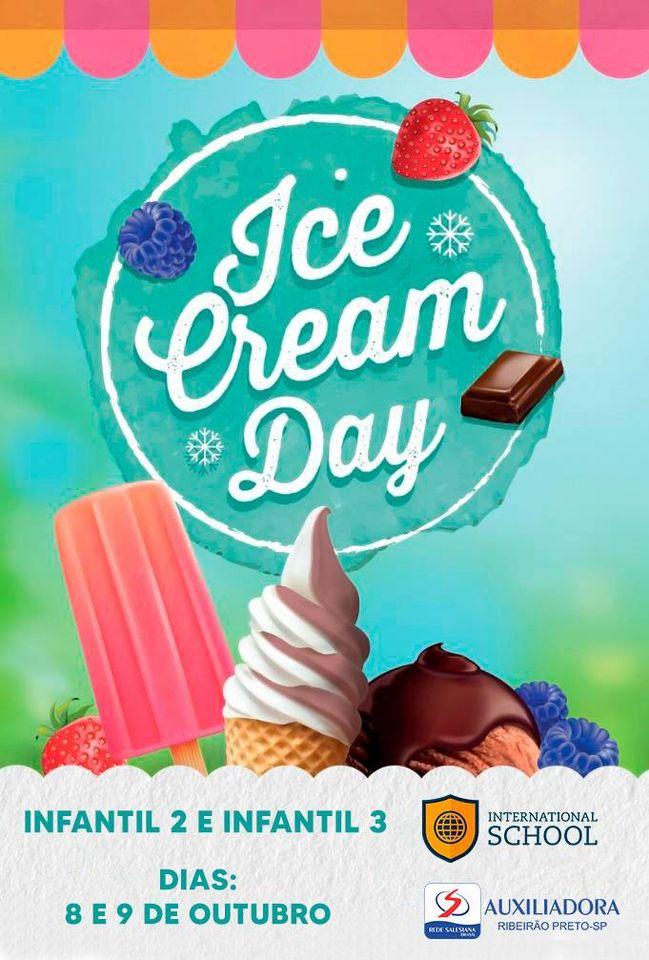 Semana da Criança terá Ice Cream Day do Programa Bilíngue