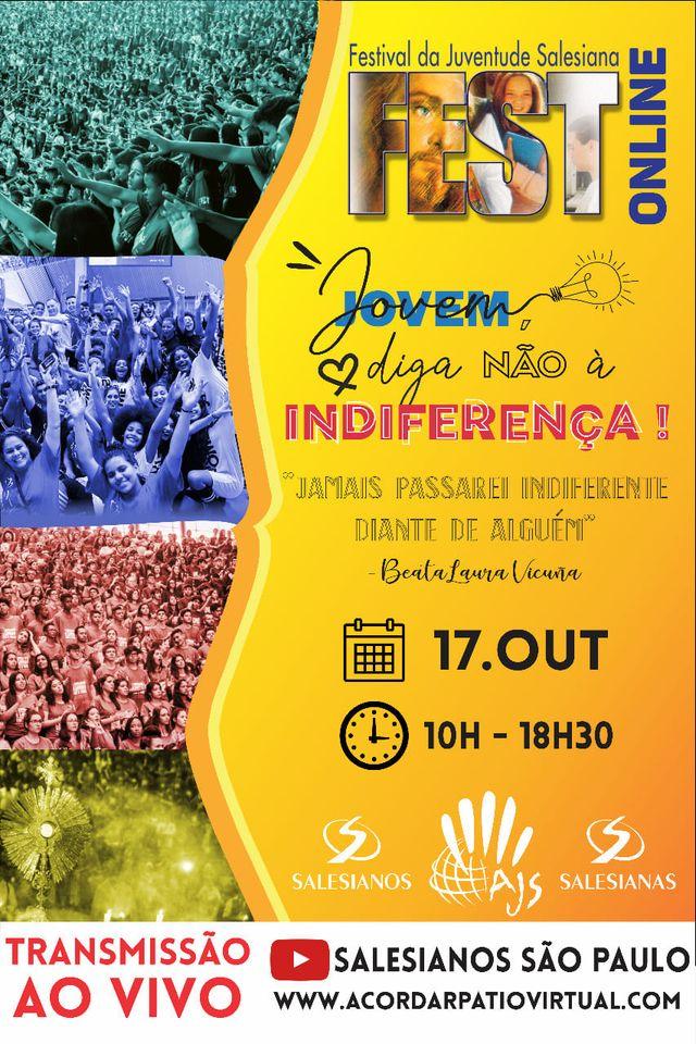 Fest 2020 acontecerá no dia 17 de outubro